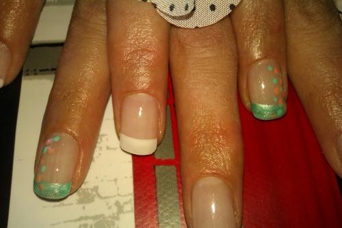 Nail art bubulle