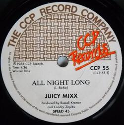 Juicy Mixx - All Night Long