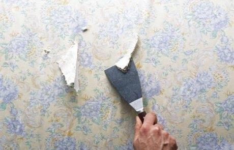 Conseil pour bien décoller votre papier peint - Bien bricoler à la ...