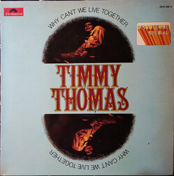 Timmy Thomas - Why can't We Live Together - Complete LP