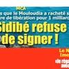 Sidibé Soumaila refuse de signer