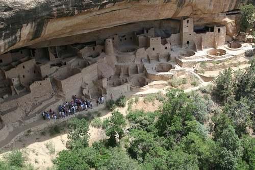 Patrimoine mondial de l'Unesco : Mesa Verde - Colorado - Etats-Unis