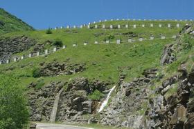 Montée vers le Mont Cenis