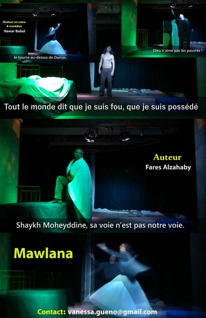 ARTISTE en résidence, Nawar pour Mawlana !