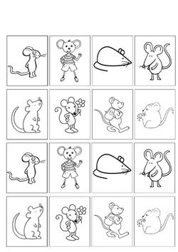 Les souris ne sont plus que l'ombre d'elles-mêmes