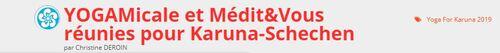 Yoga solidaire : YOGAmicale et Médit&Vous réunies pour Karuna Schechen