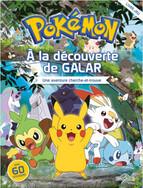 Pokemon- A la découverte de Galar- Une aventure cherche-et-trouve avec stickers