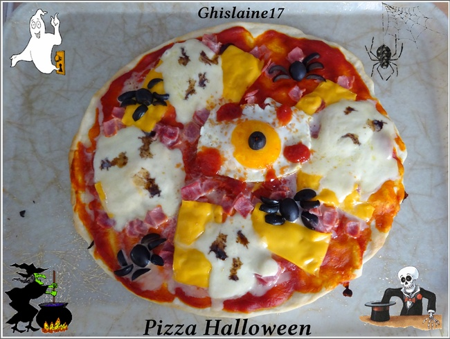 Pizza Halloween