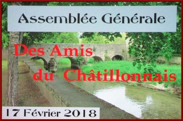 Les Amis du Châtillonnais ont tenu  leur Assemblée Générale