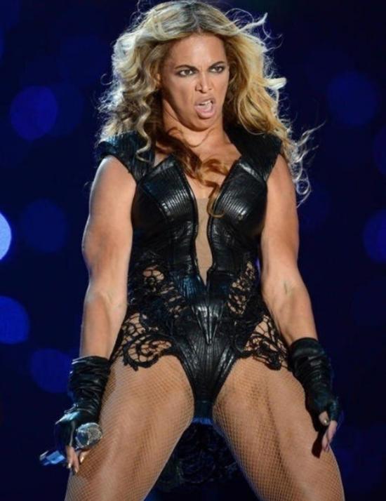 Cette photo de Beyoncé a été censurée