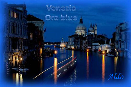 PPS Venezia Ora blue