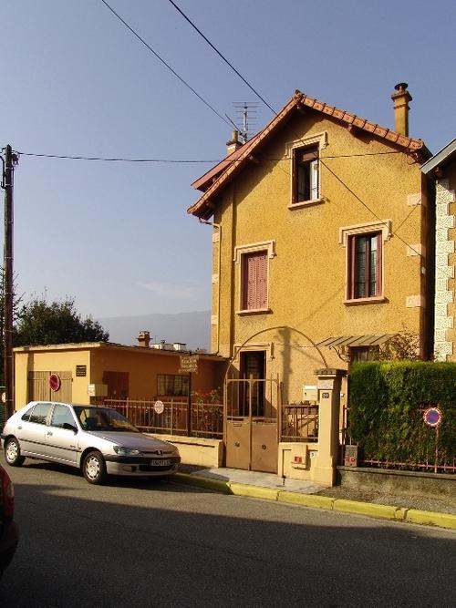 Maison des Blanc-Talon à Aix, Plaine de Marlioz (patrimoine.auvergnerhonealpes.fr)