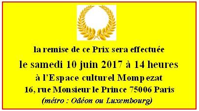 Prix Ovide