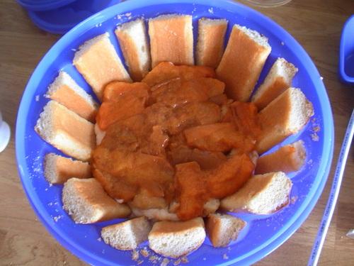 Charlotte aux abricots au sucre qui pétille ...