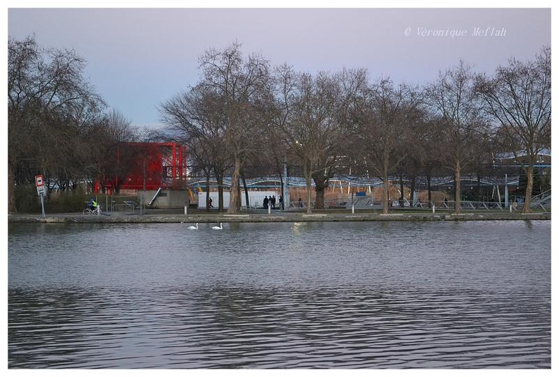 Canal de l'Ourcq, Parc de la Villette (Paris 19ème)