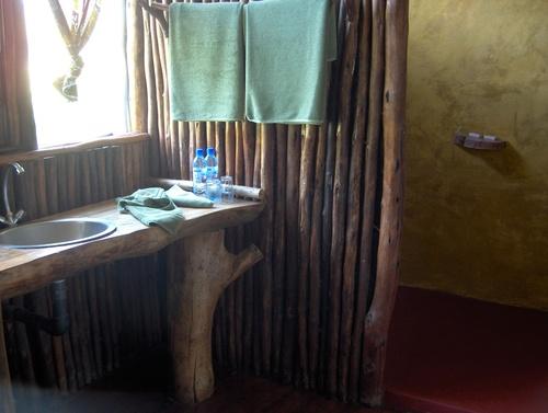 Notre chambre au Mingunga Forest Camp
