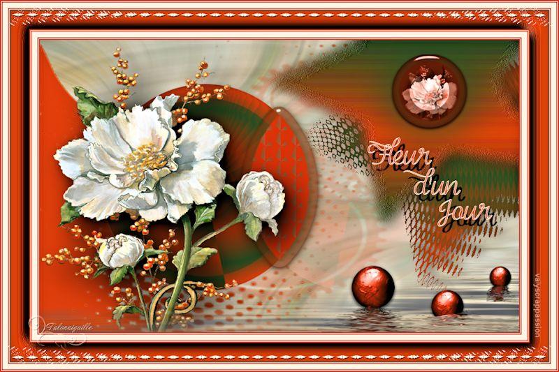 *** Fleur d'un Jour ***