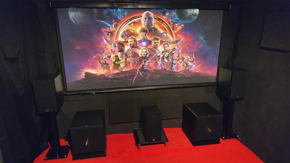 Les installations home-cinéma et hi-fi de RoRo 25