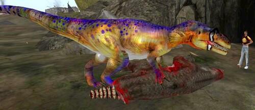 Dino multicolore