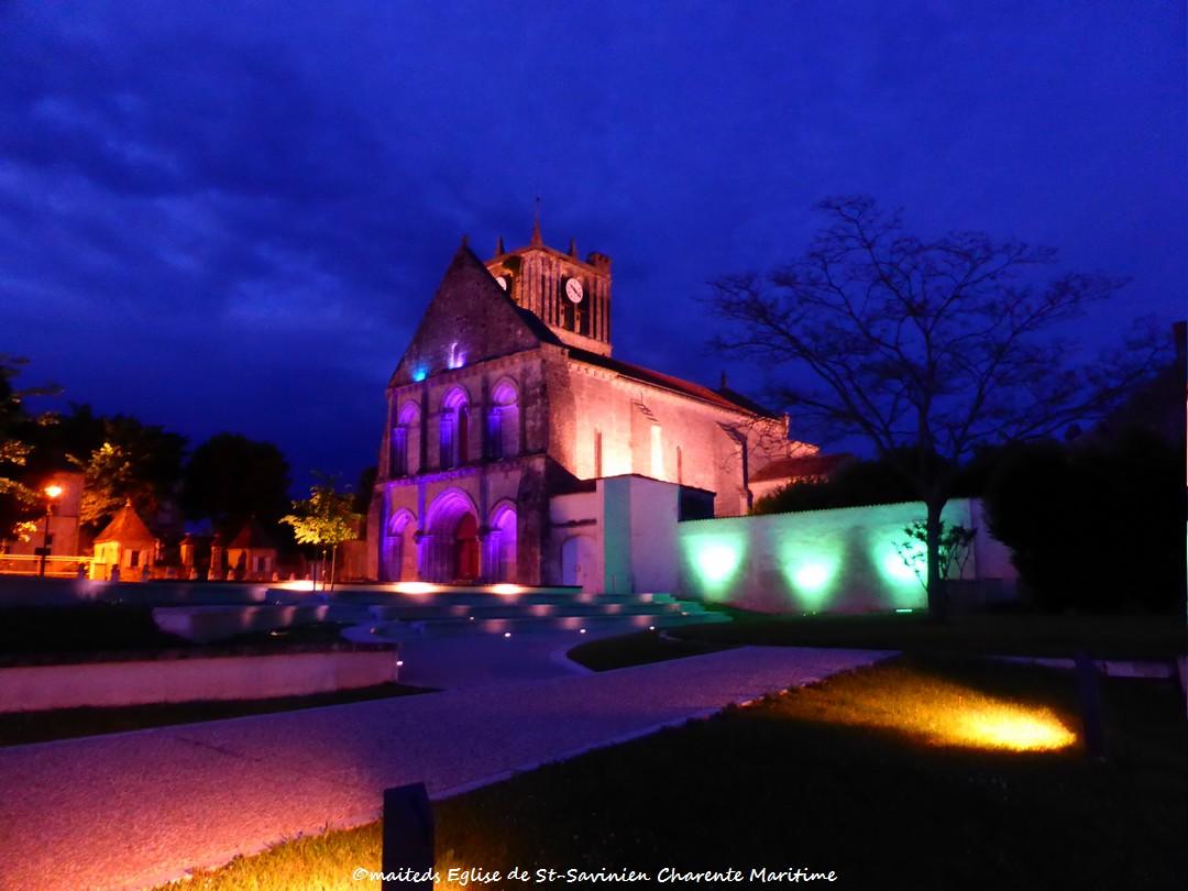 Eglise Saint-Savinien - Charente Maritime