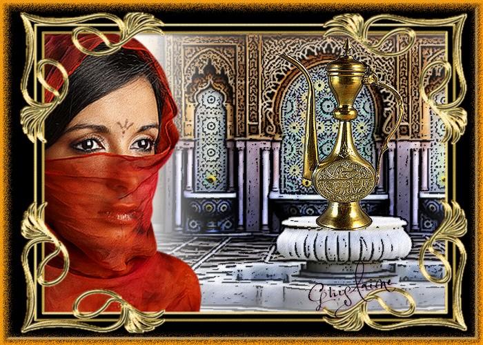 Le Défis de Lara. Femme Voilée.