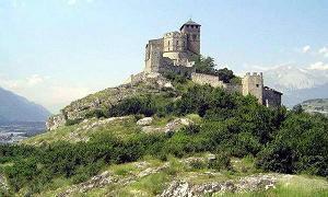 chateau de valère à Sion
