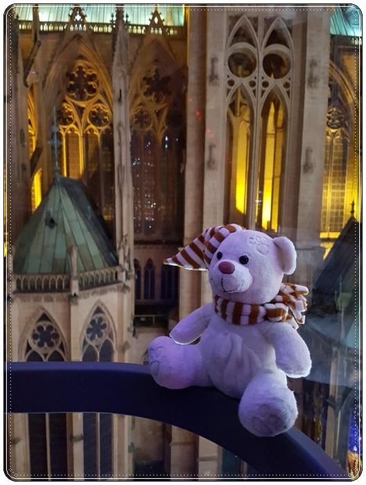 Mon retour sur Metz avec Teddy