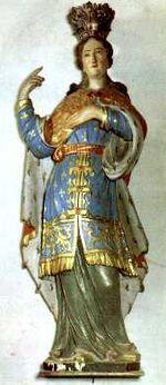 Sainte Rolende de Gerpinnes († 774)