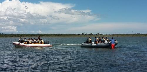 Sortie voile à Port-Mahon. Partie 3: le retour à la base nautique.