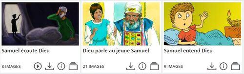 Le Seigneur parle à Samuel