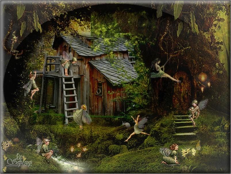 La Maison des Elfes ...