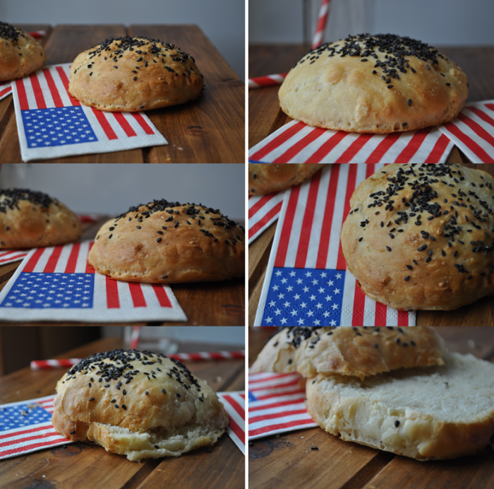 Buns pour hamburger