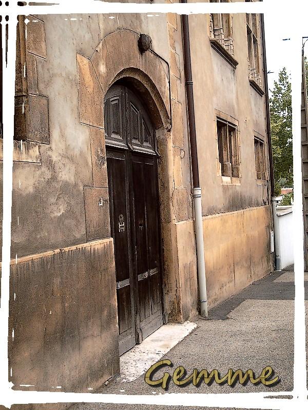 Une porte du Château de La Bussière, Oullins