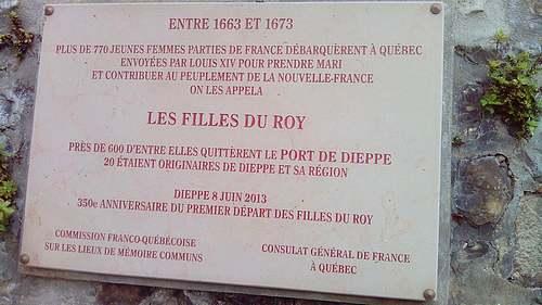 Le grand Almanach de la France : Les filles du roi