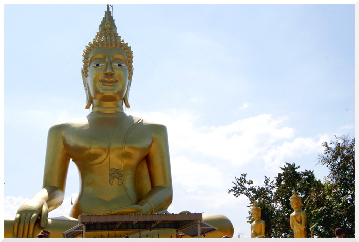 Bouddha d'Or Pattaya. Thaïlande 1