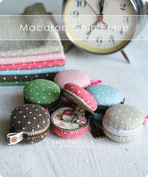 """Fabriquez des minis boîtes""""Macarons"""""""