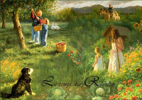 Le temps des récoltes