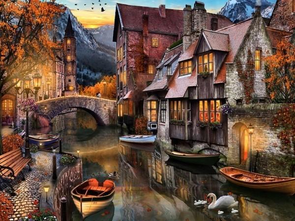L'autumne vu par les peintres