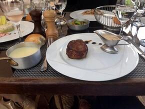 Pièce de bœuf aligot