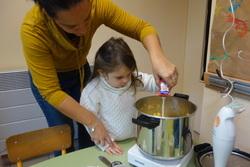 cuisine au potiron en maternelle
