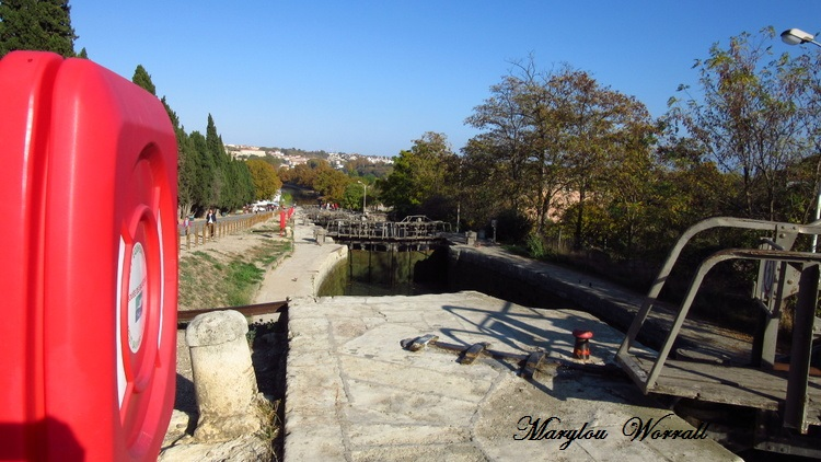 Canal du Midi à Béziers