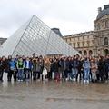 Les collégiens italiens à Paris