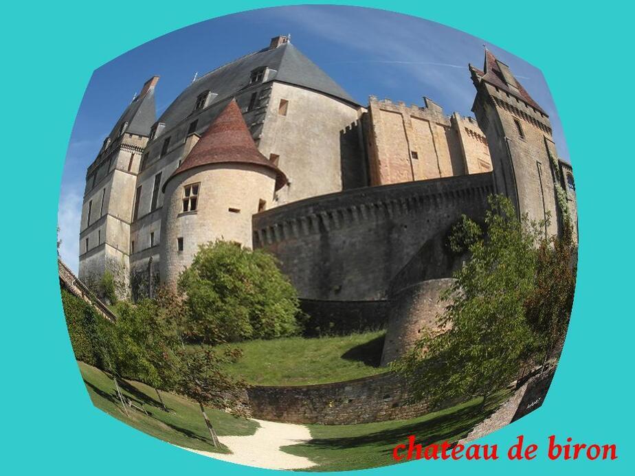 chateau de biron