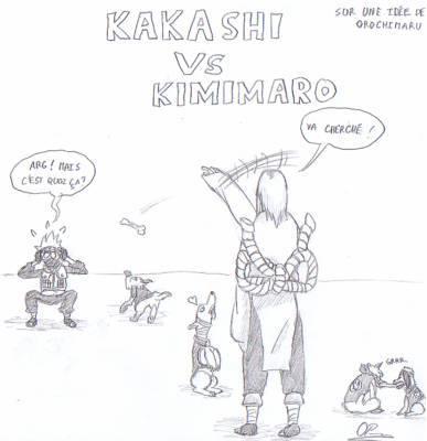 images de kakashi drole