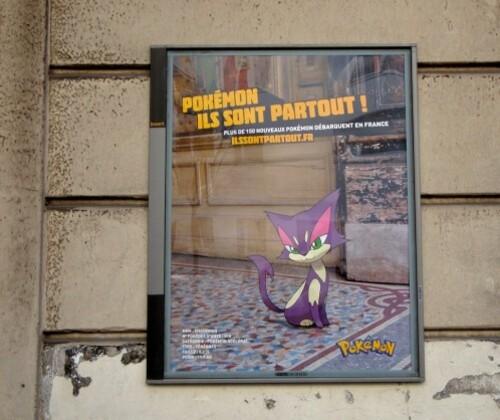 affiche Pokémon Chacripan (1)
