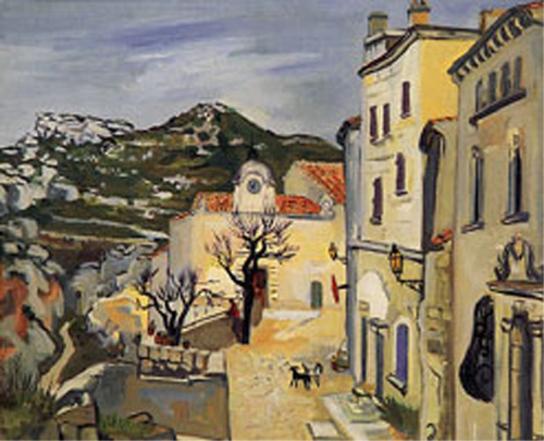 la Rue Haute des  Baux-en-Provence