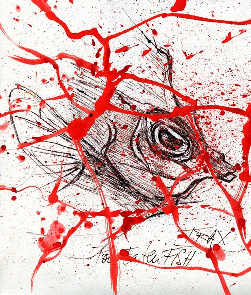 Eaten Fish, dessinateur iranien, camp de Manus Australie Amnesty