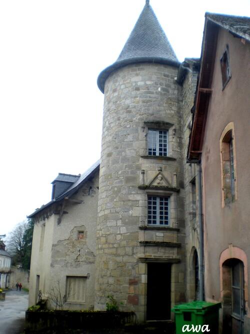 Curemonte en Corrèze : Carte de France de Canelle