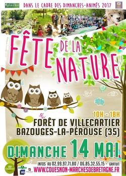 Le dimanche 14 mai : Fête de la nature en forêt de Villecartier
