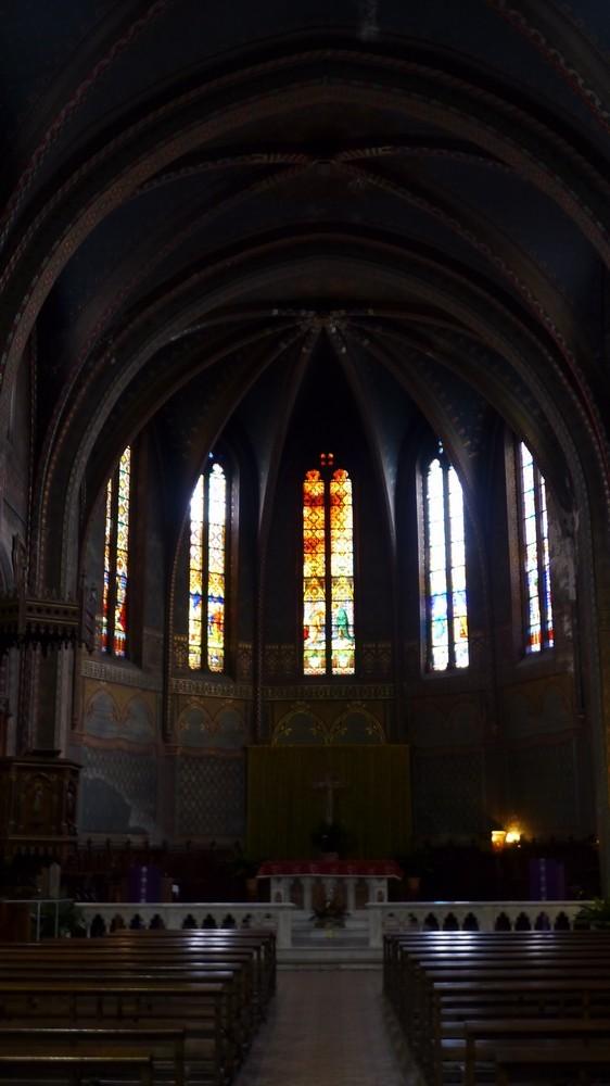 Les églises Saint-Jean et Saint-Pierre à Gaillac...